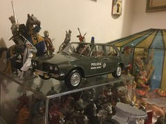 1973 Alfetta 1.8 by Laudoracing (Emilio a Roma) Tags: 118 resina alfaromeo polizia squadravolante alfetta laudoracing