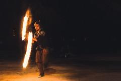 Fire Juggler (Jason Lemiere) Tags: fire bolas staff artist night street france toulouse representation hot warm warmth