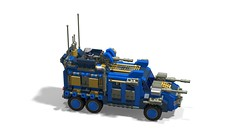 o1 6w suv heavy1 (demitriusgaouette9991) Tags: lego military army ldd armored vehicle suv deadly powerful future