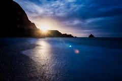 Sunrise Garrarus (APGougePhotography) Tags: ireland sun sunrise beach rocks garrarus nikon nikond800 d800 flare raindrops sirui adventure