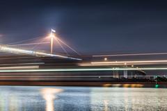 (Murdoch80) Tags: bridge bridgephotography water boat melbourne melb melbournebridge melborune westgatebridge victoria australia australian overpass longexposure nikon nikond600 d600 motionblur motion cargo ship cargoship