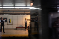 Halfway There (cookedphotos) Tags: 2018inpictures toronto ontario canada ca canon 5dmarkiv streetphotography ttc transit subway commute train platform 365project p3652018