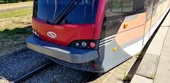 BSVG Wagen 1461 als Linie 1 an der Endstelle Stöckheim Salzdahlumer Weg (claudio.bickel98) Tags: bsvg braunschweig stöckheim salzdahlumerweg strasenbahn linie1 solaris tramino endstelle niedersachsen öpnv publictransport