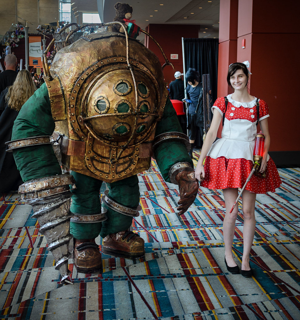 The World S Newest Photos Of Bioshock And Littlesister