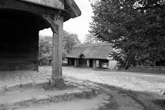 Scan-110921-0007 (marek.golkowski) Tags: poland polska skansen olsztynek analogphotography analog filmphotography monochrome pentax pentaxian cottage vilage