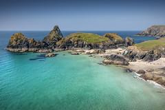 Kynance Cove, Cornwall (DM Allan) Tags: kynancecove cornwall lizard peninsula serpentine azure sea coast nationaltrust