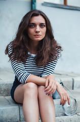 IMG_2086-1 (serj k.) Tags: girl woman beauty outdoor street glamour portrait portraiture hair brunette eyes canon 6d 50mm