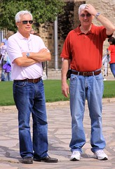 guys at the Alamo (miosoleegrant2) Tags: texas tx mission sanantonio history vacation tourist outside building architecture alamo sanantoniotexas man male butch guy gentleman men guys dude studly manly dudes handsome stud condid hunk sexy masculine people