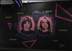 Sharon Billinge - Mural (on the water photography) Tags: sharon billinge underwood street sydney mural