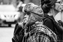 Pilot (Cycling Road Hog 2018) Tags: beard blackwhite candid canoneos750d cap citylife colour efs55250mmf456isstm edinburgh fashion hat man monochrome people places royalmile scotland street streetphotography streetportrait style urban
