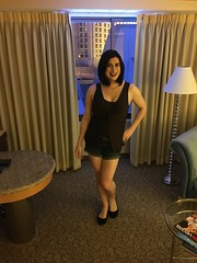 First Wildside Vegas Trip (2017) (SecretJess) Tags: crossdress cd crossdresser lgbt genderfluid gurl girly tgirl trans transvestite tg femme bigender girlslikeus vegas wildside