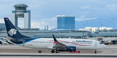 AeroMexico 737 at KLAS (Alaskan Dude) Tags: travel las klas mccarren mccarreninternationalairport planespotting airplanes airliners airliner aviation planewatching