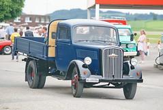 Opel Blitz 27.5.2018 0732 (orangevolvobusdriver4u) Tags: opelgermany opelblitz opel germany 2018 archiv2018 schweiz switzerland suisse bleienbach lkw truck oldtimer klassik classic vintage blitz
