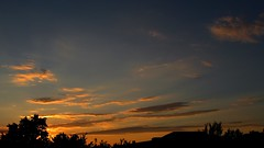 IMG_0152 (ALEKSANDR RYBAK) Tags: закат вечер солнце садится пейзаж небо облака деревья солнечный свет лучи природа сезон лето погода атмосфера sunset evening sun sits down landscape sky clouds trees solar shine beams nature season summer weather atmosphere