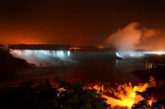 Niagara River (DJ Axis) Tags: chute eau niagara falls water night lights biggest canda horse shoe edge clift bordure turquoise outdoor wave landscape waterfall hornblower cruises horseshoe sky mist sea tree ocean