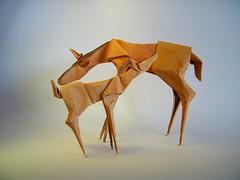 Mother's Day - Kunsulu Jilkishiyeva (Rui.Roda) Tags: origami papiroflexia papierfalten mothers day kunsulu jilkishiyeva
