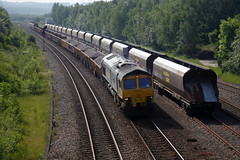 You've Missed Your Turning.... (marcus.45111) Tags: 6y37 class66 gm moderntraction networkrail 66503 woodhousejunctionsidings flickr flickruk canonrailwayphotography canon5dmk11 canondslr 2018