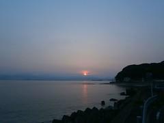 today's sunrise (Kero-ppi) Tags: sky sea cloud sunrise
