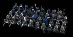 all of my lego soldiers (demitriusgaouette9991) Tags: lego military army ldd spear soldier powerful
