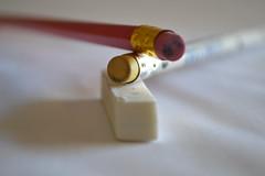 cancellare (eying2012) Tags: macromonday erasers gommepercancellare matite