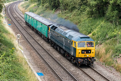 47727 at Abbotswood [5Z47] 16.07.2018 (Wolfie2man) Tags: 47727 duff caledonian gbrf class47 abbotswoodjunction abbotswood spoon 5z47