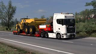 Scania S650 + Faymonville MegaMAX V2
