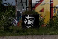 I C U (michael_hamburg69) Tags: itzehoe germany deutschland schleswigholstein kreissteinburg planetalsen kultur streetart urbanart iseeyou male stencil