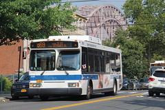 IMG_9650 (GojiMet86) Tags: mta nyc new york city bus buses 2006 orion vii genii hlf 3580 q69 ditmars blvd 23rd street