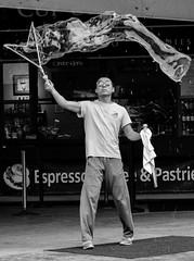 Bubbles (chrisroach) Tags: california usa sanfrancisco countries fishermanswharf blackwhite blackandwhite monochrome street streetphotography bubbles bw