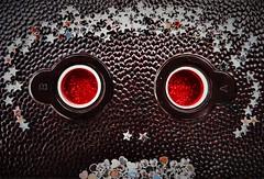 """Red eyed Monkey"" (Macro monday) (seanwalsh4) Tags: redeye macromondays 23072018 photographygear 1940 usa falconmini chicago monkey vintage bakelite funny oldfixedfocus rearremovableback camera photography steampunk hmm"