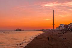 Brighton (Deirdre Gregg) Tags: sussex brighton sea summer 2018 pier lewes hastings battle herstmonceux castle long man birling gap seven sisters beachy head national trust coast cliff eastbourne
