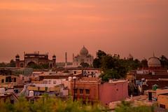 The Taj (Usuf Islam) Tags: tajmahal taj india agra sunset landscape architecture