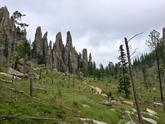 (vbchick004) Tags: summer nature hike trail southdakota blackhills cathedralspires