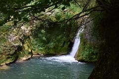 Nacimiento del Urederra (Navarra, España, 12-7-2018) (Juanje Orío) Tags: 2018 navarra provinciadenavarra españa espagne espanha espanya spain río river agua water parquenatural cascada waterfall urederra