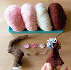 Cherry blossom bonsai (Mingle Doll 鳴娃娃) Tags: crochet crochetamigurumi bonsai ctochetbonsai cherryblossom crochetcherryblosso crochetcherryblossombonsai crochetart crochetaddicted