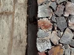 the rustic look (SM Tham) Tags: asia southeastasia malaysia pahang cherating chendor thekasturi resort timber deck stone wall natural materials textures