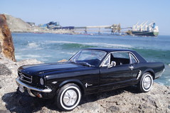 1964 Ford Mustang Coupe diecast 1:24 made by Welly (rigavimon) Tags: diecast miniaturas