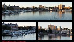 Leaving Victoria (PDX Bailey) Tags: canada british columbia bc seaplane reflection ferry victoria