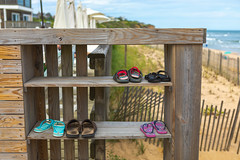 Sandals (djrocks66) Tags: sunset sunrise nature outdoors ocean beach hiking lighthouse montauk point ny long island oceanscape waterscape water sun color red morning mtk canon 5 d mark iv 5d4 fishing surfing sky clouds rocks shore sand waves shoes animals