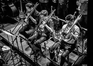 big bang big band, trombones, porgy & bess club, vienna, austria
