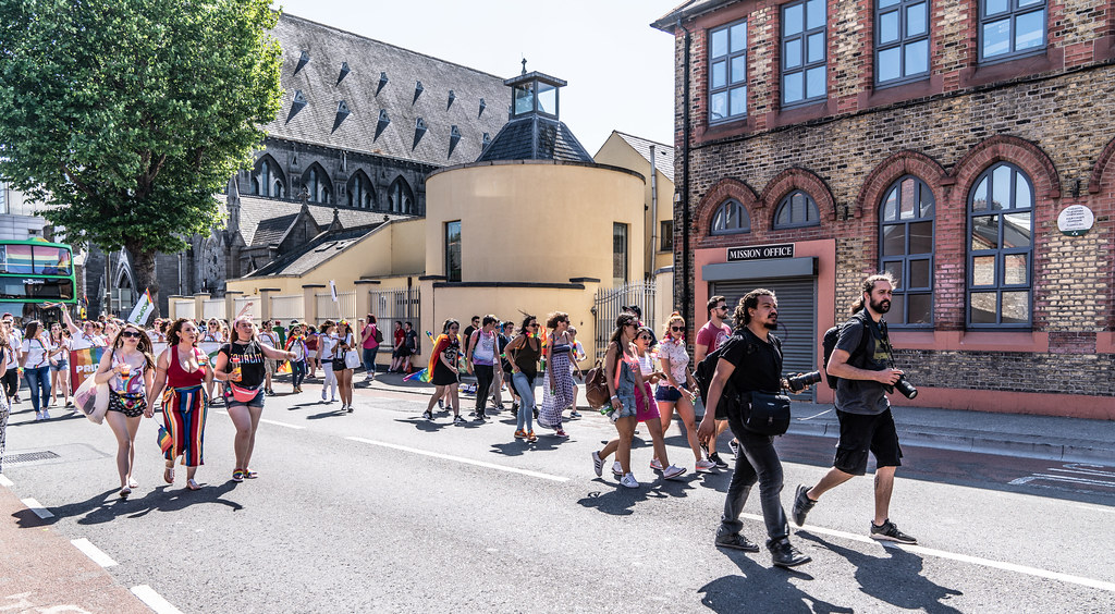 ABOUT SIXTY THOUSAND TOOK PART IN THE DUBLIN LGBTI+ PARADE TODAY[ SATURDAY 30 JUNE 2018] X-100230