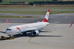 """""""Wiener Sängerknaben"""" Austrian Airlines OE-LAE Boeing 767-3Z9ER Winglets cn/30383-812 @ LOWW / VIE 20-06-2018 (Nabil Molinari Photography) Tags: wienersängerknaben austrian airlines oelae boeing 7673z9er winglets cn30383812 loww vie 20062018"""