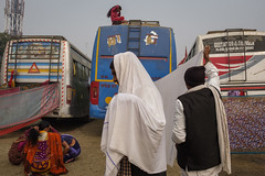 Camp (SaumalyaGhosh.com) Tags: camp transit people clothes hair bus colorr colors india travel street streetphotography xt2
