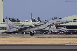 Japan Air Self Defence Force, McDonnell Douglas F-15J Eagle, 32-8816.