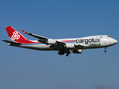 Cargolux Italia | Boeing 747-4R7F | LX-OCV (Bradley's Aviation Photography) Tags: egss stn stanstedairport stansted aircraft air aviation airplane airport londonstanstedairport londonstansted canon70d essex plane aeroplane avgeek aviationphotography planespotting planes cargoluxitalia boeing7474r7f lxocv