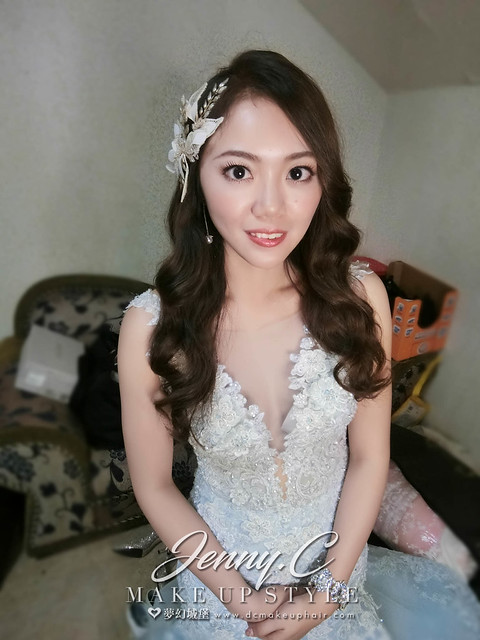 【新秘蓁妮】bride逸婷 訂結婚造型 / 北斗紅蟳海鮮餐廳
