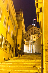 Marches (hubertguyon) Tags: rome roma italie italia europe europa ville city rue street escaliers marches stairs