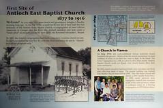First site of Antioch Baptist Church, 1877-1916 (cizauskas) Tags: history civilrights atlanta georgia candlerpark church park