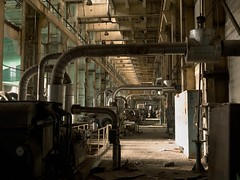 P.P. (LopazV) Tags: urbex urbanexploration exploration abandoned dark industrial industrialdecay interior decay heavy powerplant panasonic powerstation heatingplant