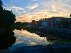 Erie Canal Sunset (tommockler) Tags: canaltown canastota eriecanal sunset